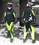 Безопасность - выбираем мотокуртку и мотобрюки