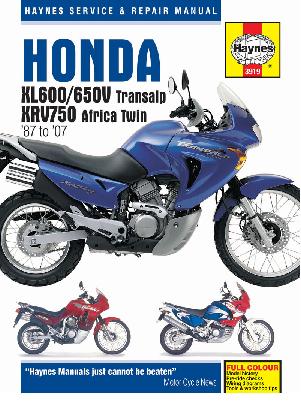 Хонда XL600/650V Трансальп и XRV750 Африка Твин