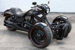 Harley-Davidson V-Rod Обратный трайк