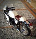 Кастом BMW Monolever с обтекателем Flat Racer