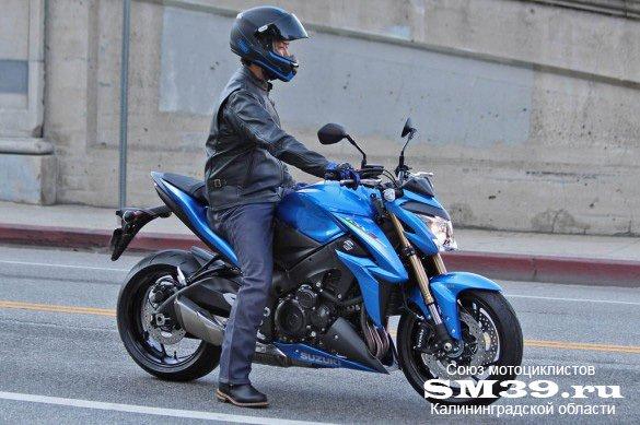 Первые изображения Suzuki GSX-S 1000