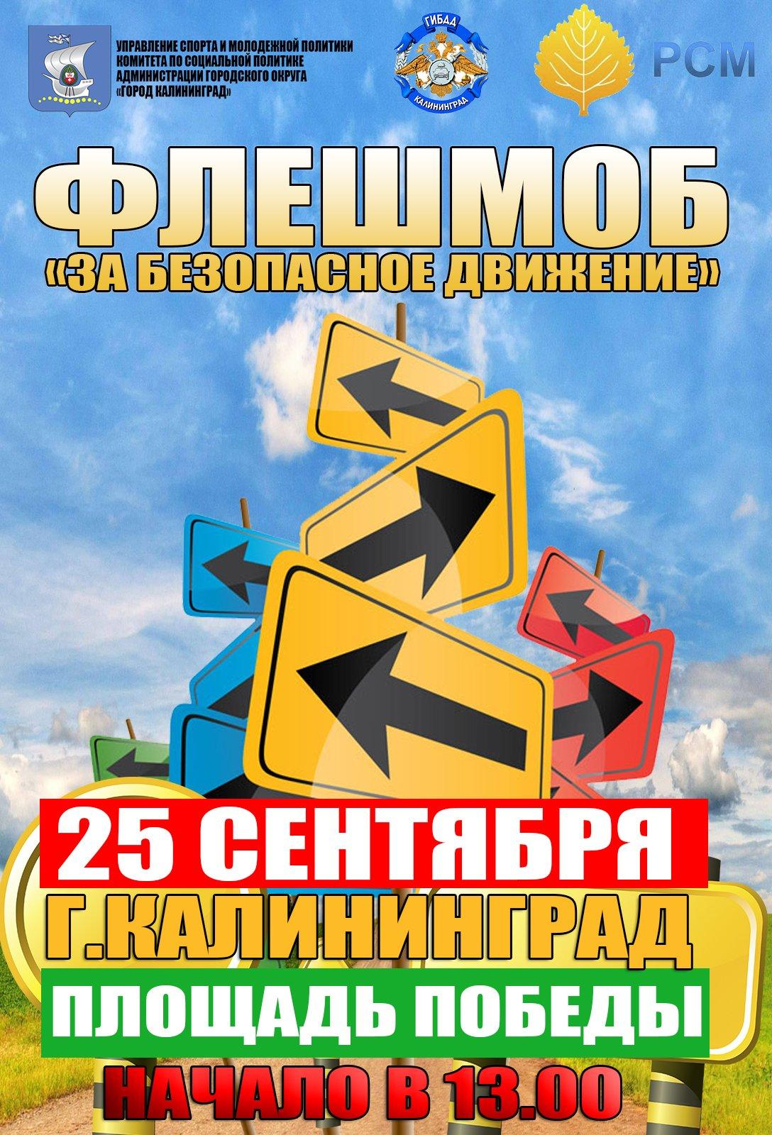 Молодежная акция «За безопасность дорожного движения»
