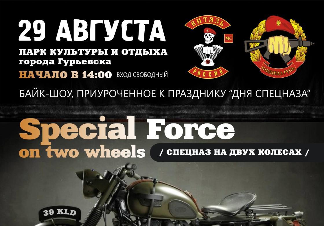 День спецназа, 29 августа 2015 г. от клуба Витязь МС